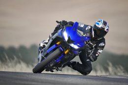 אופנוע כחול